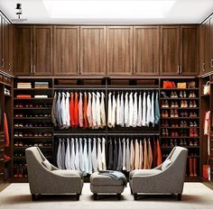 his and hers closet /gentlemaninspiration -... - Klockstagram