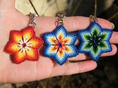 Keychain flower by Teszugi.deviantart.com on @DeviantArt