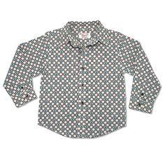 Original Penguin Circle Print Woven Shirt from Munsingwear