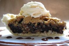 Nestle Toll House Chocolate Chip Pie. Photo by Southern Polar Bear