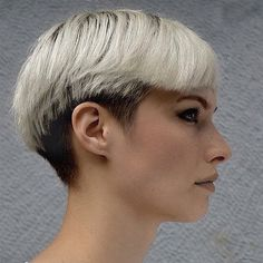 planetbuzzedgirls, Undercut two tone by HarterCanyon on Flickr.
