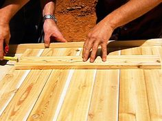 Tips for Building Shutters How to Make Rustic Wood Shutters : How-To : DIY Network The post Tips for Building Shutters appeared first on Wood Ideas.