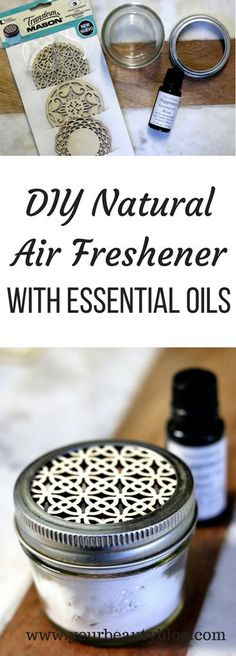 How to make a natural air freshener with baking soda and essential oils. This will naturally absorb odors while the essential oils throw a nice scent into your home. This can also be a DIY car air freshener if you put it in your car. Deep Cleaning Tips, House Cleaning Tips, Natural Cleaning Products, Cleaning Hacks, Household Products, Green Cleaning, Household Tips, Baking Soda Shampoo, Baking Soda Uses