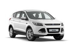 The new Ford Kuga -- front view.