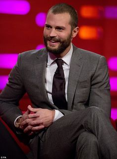 Source of inspiration: Jamie Dornan, who reprises his role as enigmatic businessman Christian Grey, readily admits his erotic scenes with co-star Dakota Johnson inadvertently prompted a surge in pregnancies amongst fans