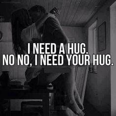 Seriously though!! Just hug me forever and never let go!! I don't know what you mean by text me tonight! Lol...♡