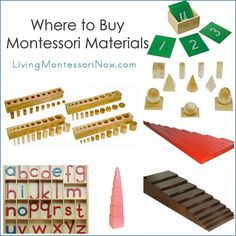 Blog post at LivingMontessoriNow.com : Whether you're looking for Montessori materials for a Montessori school, traditional preschool, homeschool, or occasional use at home, the[..]
