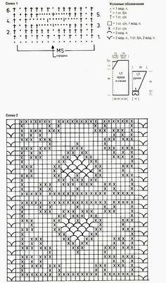 Ivelise Hand Made: крючком вязание Блузка В