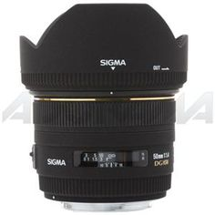 Sigma 50mm f/1.4 EX DG HSM AF Lens for Canon DSLRs #310101 -USA warranty: Picture 1 regular