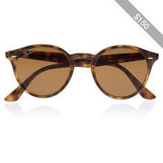 Ray-Ban Round-frame acetate sunglasses