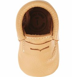 1accc9e05f7 Freshly Picked Penny Loafer Crib Shoe (Baby   Walker)