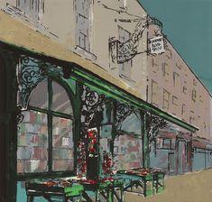 Greenes' Bookshop Edition of 21 Screenprint Image and Paper Size: x cm unframed All work by Bernadette Madden Irish Landscape, Irish Art, Rock Pools, Sculpture Art, Printmaking, Screen Printing, Printer, Contemporary Art, Fine Art Prints