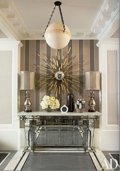 Trend alert – the mixing of metals.  Gold and silver and brass and bronze.
