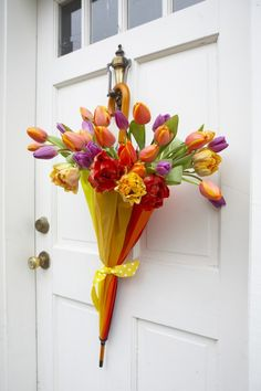 108 Best Umbrella Door Decoration Ideas Images Umbrella Wreath