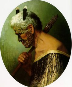thesecretrose: A Hero of Many Fights Charles F Goldie New Zealand artist. Maori People, Polynesian Art, Hawaiian Art, Amazing Paintings, Bone Carving, Old Master, Interesting Faces, Face Art, Oil On Canvas