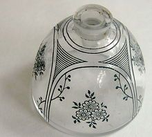 Vintage Baccarat Perfume Bottle: 1917 Coryse Yiange for D'Hortys