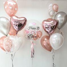 Birthday Goals, 18th Birthday Party, Diy Birthday, Birthday Room Decorations, Balloon Decorations, Balloon Arrangements, Wedding Balloons, Birthday Balloons, 21st Bday Ideas