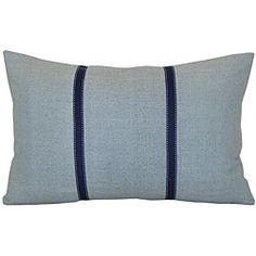 pillow with grosgrain ribbon