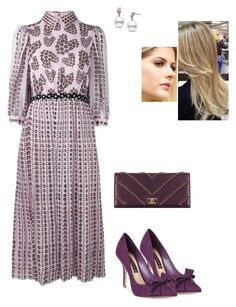 """""""Untitled #8588"""" by gracebeckett on Polyvore featuring Giamba, Steve Madden and Chanel"""