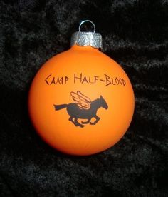 percy jackson camp half blood ornament camp by TotallyObsessed