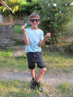 caniche royal, cool kids, spirit kids, boys, green fashion,