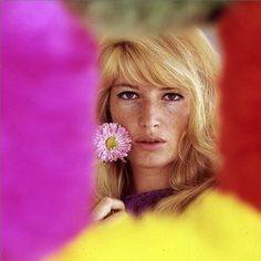 """I make people laugh, which is a great gift, but I live in fear.""  -Monica Vitti"