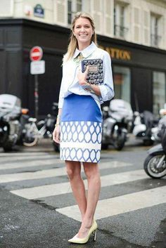 13 ways to wear a pencil skirt to work this fall - click to see all of them