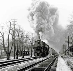 The big engine that couldn't | Classic Trains Magazine. A PRR 2-10-4, Indianapolis, IN, circa 1951-2.