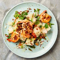 Yotam Ottolenghi's freshly seared prawns and pomelo salad Yotam Ottolenghi, Ottolenghi Recipes, Pomelo Salad, Prawn Salad, Prawn Recipes, Salad Recipes, Vegetarian Recipes, Cooking Recipes, Healthy Recipes