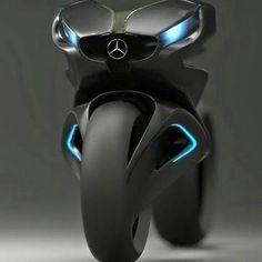 Mercedes-Benz Bike concept • Follow @motorworld_247 • • Photo via @world_around_bikes • #benz #mercedesbenz #bikesofinstagram