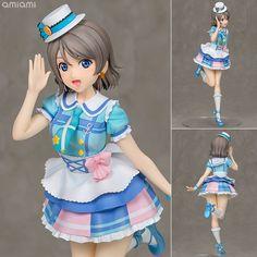 AmiAmi [Character & Hobby Shop]   DreamTech - Love Live! Sunshine!!: You Watanabe Kimi no Kokoro wa Kagayaiterukai? Ver. 1/8 Complete Figure(Pre-order)