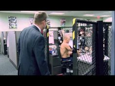 Georges St-Pierre in the Octagon - UFC 129 Champion! Sports Center commercial...funny!