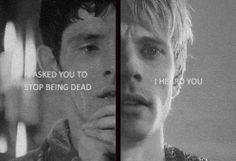 Merlin/Sherlock..uhmm this breaks my heart so I'm going to ask whoever made this to not. in a good way. in a good fandom heartbreak way.