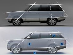 Sedan-Proportions | Proportions | Pinterest | Sedans, Sketches and ...