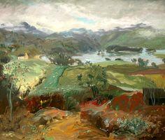 William Drummond Bone - Scottish Landscape