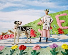 """Salvation Mountain"" Nora by JUCO for Paper Magazine-kenzo"