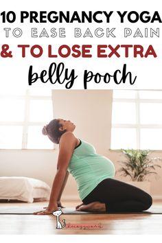 Prenatal Yoga Poses, Prenatal Workout, Pregnancy Workout, Pregnancy Yoga Poses, Second Trimester Workouts, Yoga For Two, Pregnancy Nutrition, Back Pain, Hip Pain