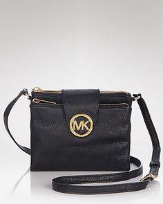 MICHAEL Michael Kors Crossbody - Large Leather | Bloomingdale's