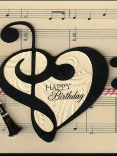Happy Day Birthday Music Notes Friend Quotes Facebook Wishes