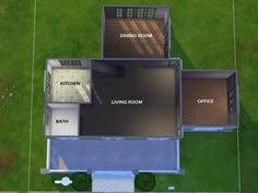 Found in TSR Category 'Sims 4 Residential Lots' Sims 4 Ps4, Sims 4 Game, Sims Cc, Sims 4 House Plans, Sims 4 House Building, Sims 4 Houses Layout, House Layouts, Do It Yourself Haus, Sims 4 Challenges