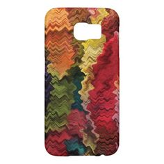 Colorful Fabric Abstract Samsung Galaxy S6 Cases