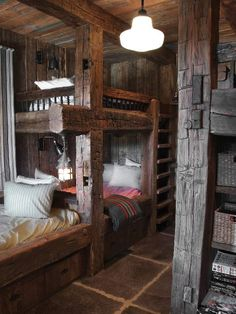 mountain cabin bunk beds