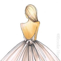 sketch simple//pretty by Brooke Hagel
