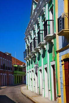 Campeche, Yucatan Mexico. Why not head over to our page and discover more about Mexico; http://theculturetrip.com/north-america/mexico/