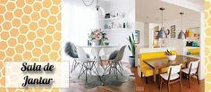 Inspiração de Décor: Sala de Jantar | Debora Montes Blog