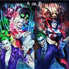 A or B ??? #loveharleyquinn