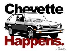 deviantart 1977 Chevette by CRWPitman