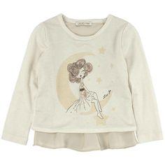 T-SHIRT LIU JO BABY,  T-Shirt per #bambine della Liu Jo in #jersey arricchito da tanti #brillantini con maniche lunghe, girocollo, stampa frontale e #patch di #seta sul retro e sul fondo. #liujo #liujobaby  http://www.abbigliamento-bambini.eu/compra/t-shirt-bambine-liu-jo-baby-2973559
