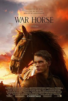 War Horse - Jeremy Irvine, Benedict Cumberbatch, Tom Hiddleston. Young Albert enlists to serve in World War I after his beloved horse is sold to the cavalry. Albert's hopeful journey takes him out of England and to the front lines as the war rages on. 14/01/12
