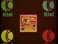 """K-tel Records """"Power House"""" commercial"""